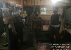 Polres Rohil Kembali Laksanakan Giat Patroli R4 Pemantapan Harkamtibnas