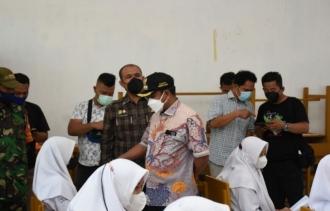 Pemkab Sergai-BINDA Sumut Jalin Sinergitas Laksanakan Vaksinasi Pelajar