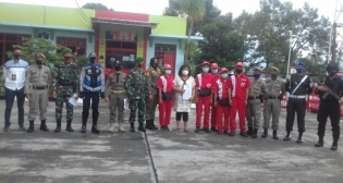 Tim Gakkum Melakukan Sosialisasi di SPBU Depan Infantri Yonip 144 Curup