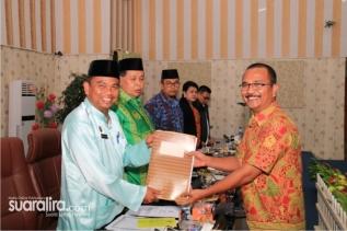 Dua Ranperda di Setujui, Wabub Sergai Ucapkan Terimakasih Kepada Jajaran DPRD