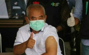 Wali Kota Bekasi Bersama Forkopimda Dldi Suntik Vaksin Covid -19