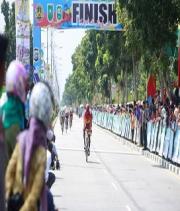 Bupati Siak Lepas Balap Sepeda Tour de Siak Etape III