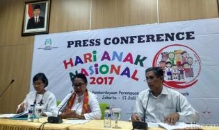 Menteri Yohanna : Riau Jadi Tuan Rumah Hari Anak Nasional 2017