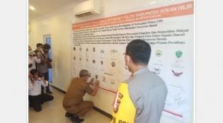 Jelang Pilkada Serentak, Polres Rohil Deklarasi Pemilu Damai