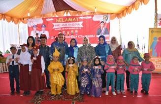 Pemkab Sergai Peringati Hari Anak Nasional 2019
