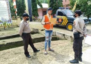 Guna Menjaga Kondusifitas Jelang Pilkada 2020, Kapolsek Simpang Kanan Pimpin Langsung KRYT