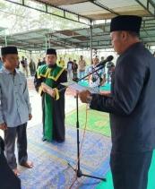 Wakili Bupati, Camat Mesidah lantik Imem Kampung Cemparam Pakat Jeroh