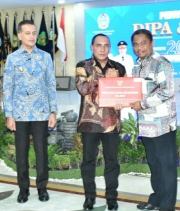 Darma Wijaya Terima Daftar Isian Pelaksanaan Anggaran (DIPA) Tahun 2020