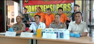 Sat Reskrimum Polres Aceh Tamiang, Berhasil Ringkus 3 Pelaku Pencuri 43 Unit Hp