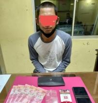 Satuan Reserse Narkoba Polres Kuansing Mengamankan Satu Orang Pelaku Narkoba Jenis Shabu