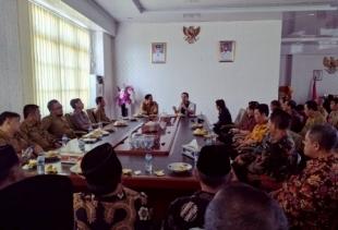 Bupati Rejang Lebong Kunker ke Kabupaten Kaur, Bengkulu