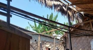 Sedih, Warga Perbaungan Tak Punya Biaya Perbaiki Rumah, Separuh Atapnya Sudah Hilang