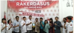 Kunjungan Balasan PWOINusantara Ke Kantor Sekretariat DPD PROJO Riau