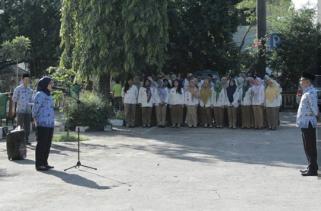 Kecamatan Bekasi Timur melaksanakan Apel Hari Kesadaran Nasional
