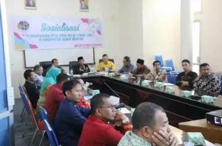 Asisten I Drs Mukhlis Buka Sosialisasi Pemanfaatan Peta ZNT Kabupaten Bener Meriah