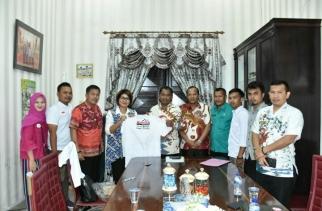 Wabup Sergai H Darma Wijaya Terima Audensi DPD Rumah Aspirasi Milenial (RAM) Kabupaten Sergai