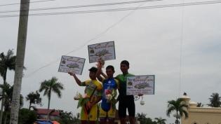 Etape Terakhir Tour de Siak, Pebalap Indonesia Juara Satu, Dua dan Tiga