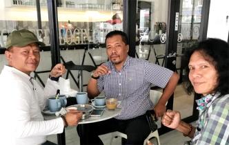 Sambil Ngopi, Gubernur LIRA Kepri Bahas Strategi Program Kerja