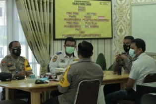 Kapolres Tebingtinggi Pimpin Rakor Kawasan Tertib Lalulintas di Kota Tebingtinggi