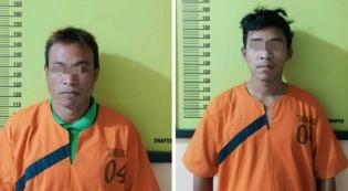 Dua Pelaku Pembunuhan Warga Batang Peranap di Bekuk