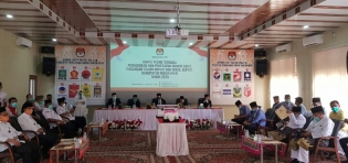 Kapolres Rohil Serahan Dokumen Fakta Integritas dan Maklumat Polri