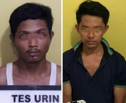 Polsek LBJ Tangkap Dua Pengedar Narkotika Jenis Sabu