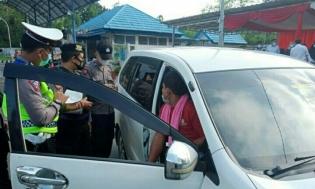 Ops Ketupat Nala 2021 Polres Rejang Lebong Dirikan Enam Pos Polisi