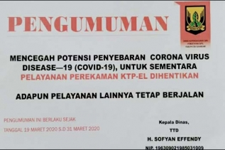 Kadisdukcapil Sukabumi Ajak Warga Urus Dokumen Kependudukan Melalui Online
