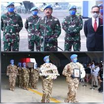 Panglima TNI : Keluarga Besar TNI Kehilangan Prajurit Terbaik Pada Misi PBB