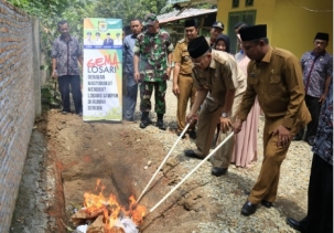Bupati Berharap Galakkan Gemalosari di Tebing Syahbandar