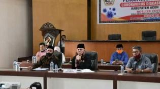 Bupati Aceh Tengah Menjadi Narsum Dalam Diskusi Publik Secara Online