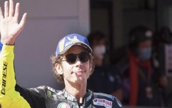 MotoGP Prancis 2020: Rossi Crash Lagi!