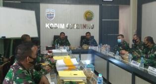 Tim Itdam I/BB Laksanakan Pengawasan dan Pemeriksaan ke Kodim 0302/Inhu