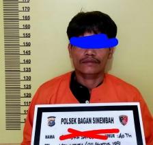Diduga Lakukan Pembobolan dan Pencurian Alat Musik Cafe, Pelaku Ditangkap Polsek Bagan Sinembah