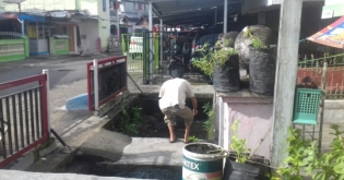Akibat Buang Sampah, Kelurahan Kepala Siring Langganan Banjir