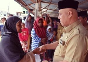 Korban Musibah Kebakaran Di Kampung Kemili Terminal Terima Bantuan Darurat