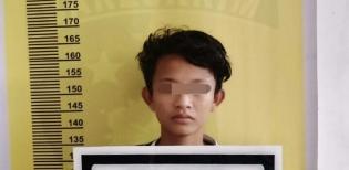 Motor Curian Terjaring Razia, Remaja Seberida Diringkus Polsek Batang Gansal