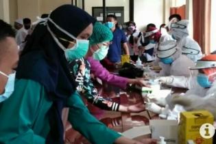 Kembali Lakukan Rapid test, 44 pegawai RSUD Kumpulan Pane Reaktif