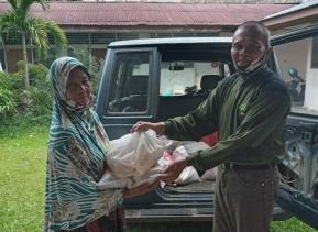 Menjelang Lebaran Idul Fitri 1442 H, PPM Provinsi Riau berbagi