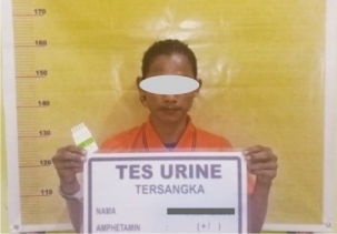 Kembali, Kepolisian Resort Rohil Berhasil Amankan Diduga Pengedar Sabu