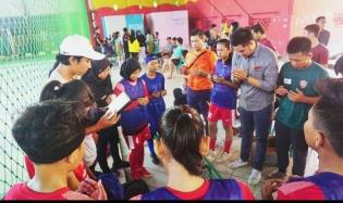 Futsal Putra Putri Mura Masuk Babak Semi Final, KONI Tergetkan 1 Mendali Emas