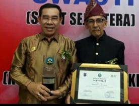 Rejang Lebong Kembali Raih Penghargaan Kabupaten Sehat Tingkat Nasional