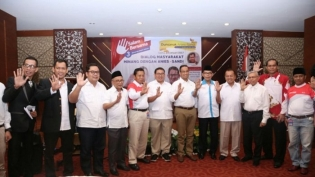 Warga Minang di Jakarta Dukung Pasangan Anies-Sandiaga Uno