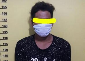 Diduga Bawa Kaca Pirex dan Sabu, Seorang Pemuda di Gelandang ke Polsek LBJ