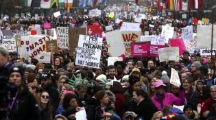 Unjuk Rasa Anti Donald Trump Digelar di Lebih dari 60 Negara