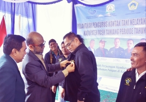Wabup Aceh Tamiang, Lantik dan Kukuhkan KTNA Periode 2020-2025