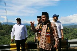 Didepan Wamen PUPR, Sarkawi : Jembatan ini Harus di Bangun
