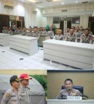 Brigadir Polri SPN Cisarua Polda Jabar Latihan Kerja di Polres Sukabumi