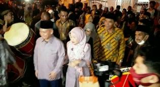 Silaturrahmi Balon dan Wakil Bupati Hj Susulawati MM - H Ruswan