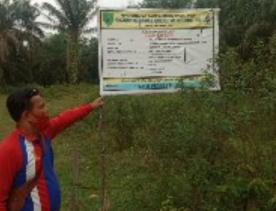 Proyek Pengerasan Jalan Desa Japura di Duga Mark Up